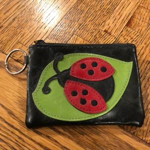 Accessories - NWOT Lady Bug Coin Purse